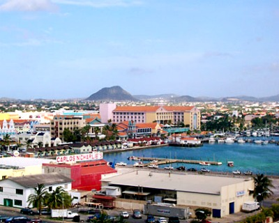 Oranjestad is the capital and the biggest community of the Aruba.