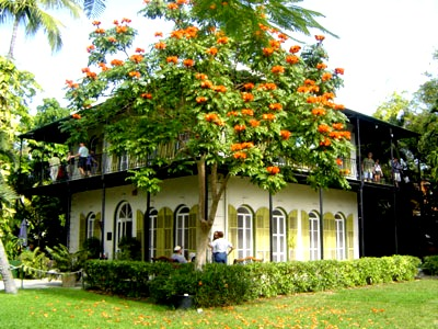 The house where Ernest Hemingway lived and wrote his masterpieces.