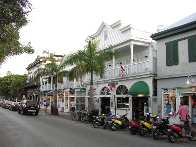 Duval Street - a place with many interesting shops and restaurants.