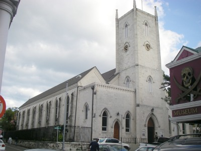 Here is the Christ Church Cathedral - one of the historical places in Nassau.