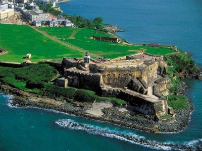 Here is Fort San Felipe del Morro, perhaps the most famous historical site in San Juan.