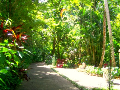 The Diamond Botanical Garden is a beautiful place to spend couple of hours.