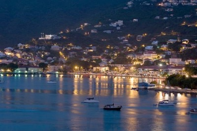 The beautiful St. Thomas harbor.