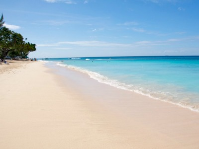 Payne's Beach, one of the most popular beaches in Barbados.