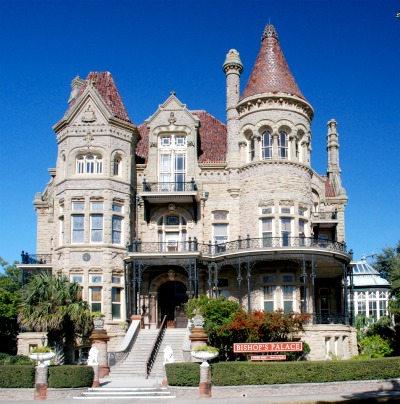 Bishop's Palace in Galveston built in 1893.