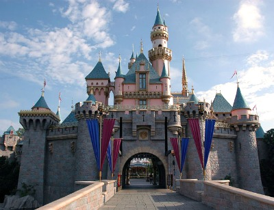 The Disneyland in L.A. - a great place for friends and families.