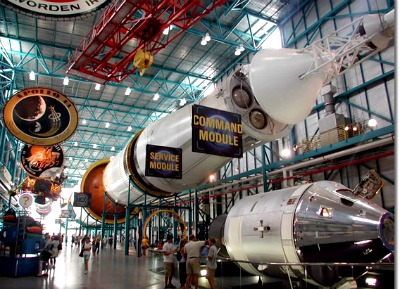 A look inside the Kennedy Space Center.