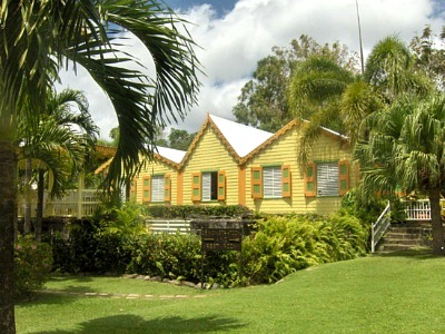 Romney Manor - one of the most popular places in St. Kitts among cruise travelers.
